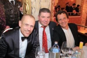 Mr. Life Ball Gery Keszler, Wolfgang Wilhelm von der Wr. Antidiskriminierungsstelle und Stadtrat Christian Oxonitsch