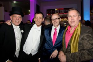Reinhard Pinter mit Freunden