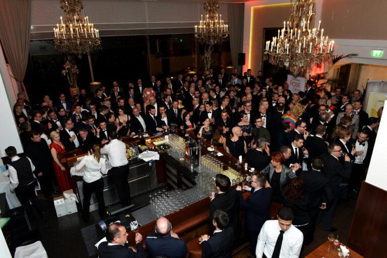 Ehrengästeempfang in der Gloriette-Bar © Manfred Sebek