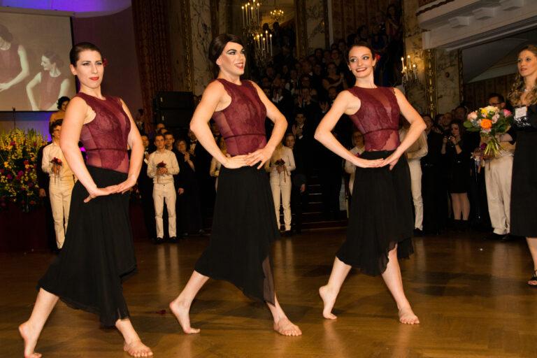 Einlage der Human Art Dance Company © Klaus Peter Walser
