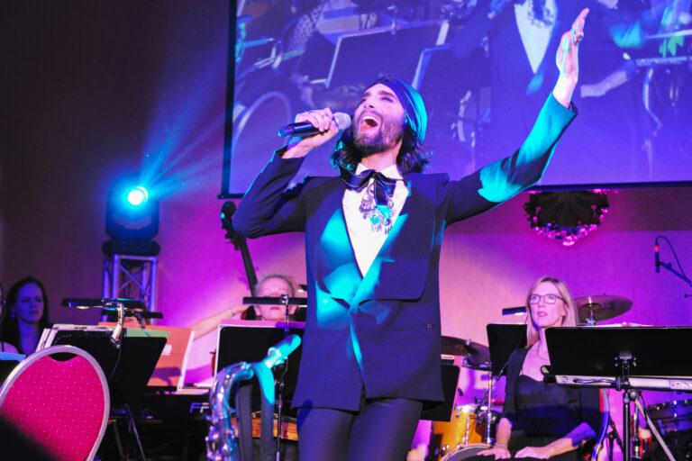 Auftritt von Conchita im Rahmen der Eröffnung